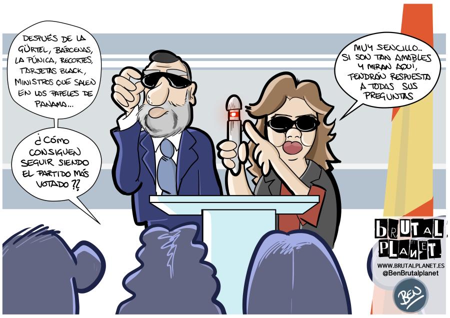El secreto del exito del PP