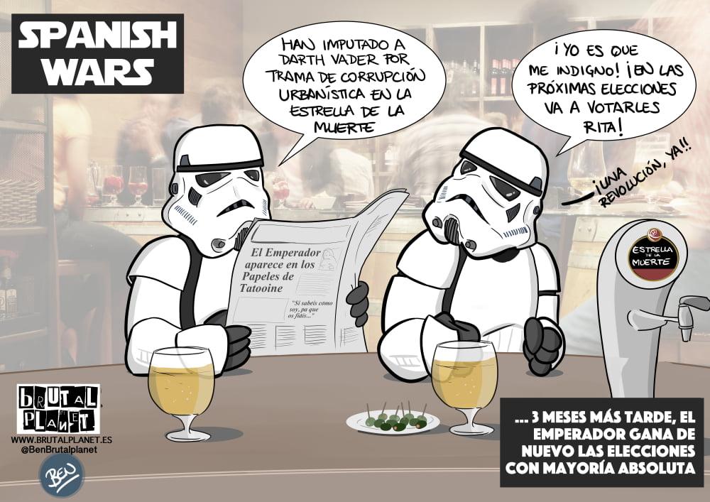 Spanish Wars - StarWars a la española