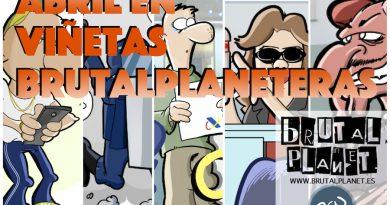 Abril 2016 - Abril en viñetas brutalplaneteras