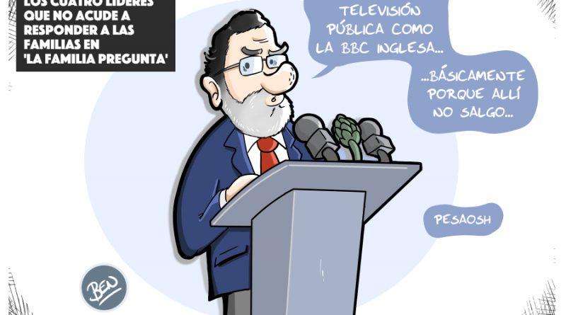 Rajoy y la BBC: no responde a las familias