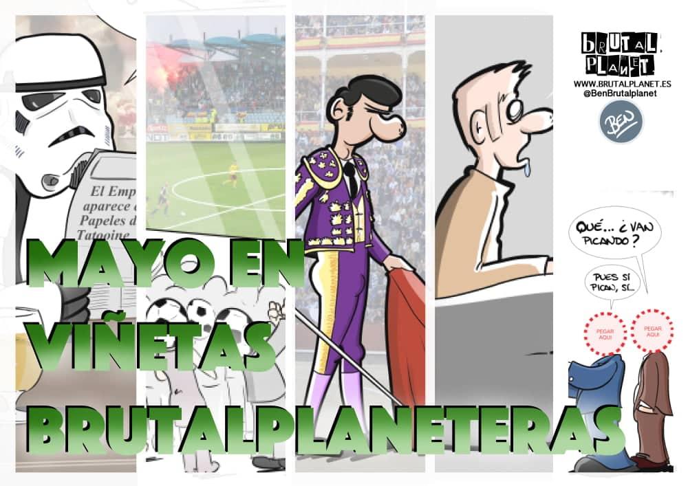 Mayo 2016 - Mayo en viñetas brutalplaneteras