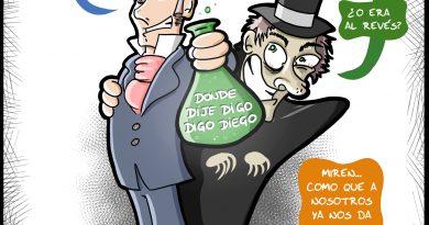 El extraño caso del político español