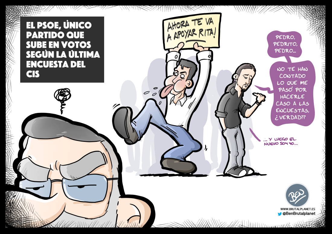Para el PSOE todo es ventaja