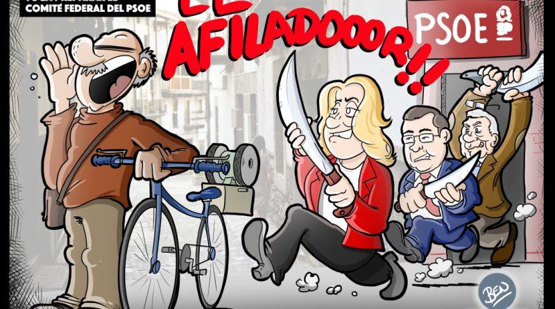 Preparando el comité federa del PSOE