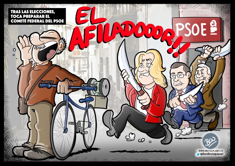 Preparando el comité federal del PSOE