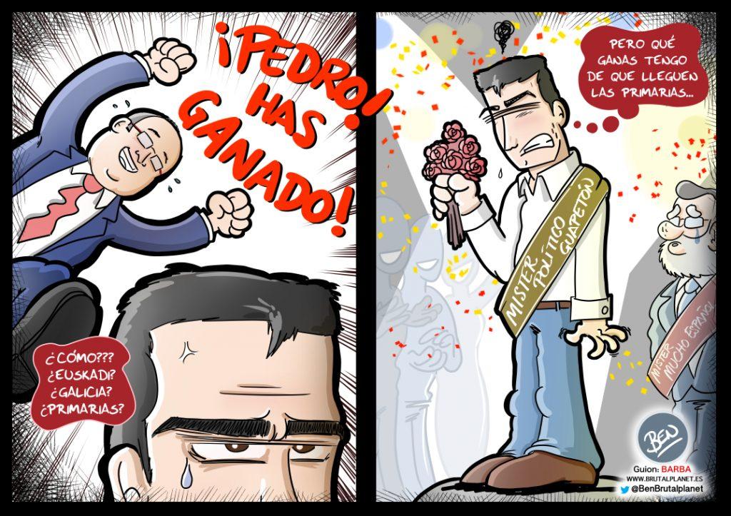 La única Victoria de Pedro Sánchez y la dimisión en masa