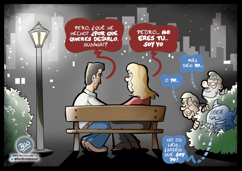 Frases para romper una relación en el PSOE
