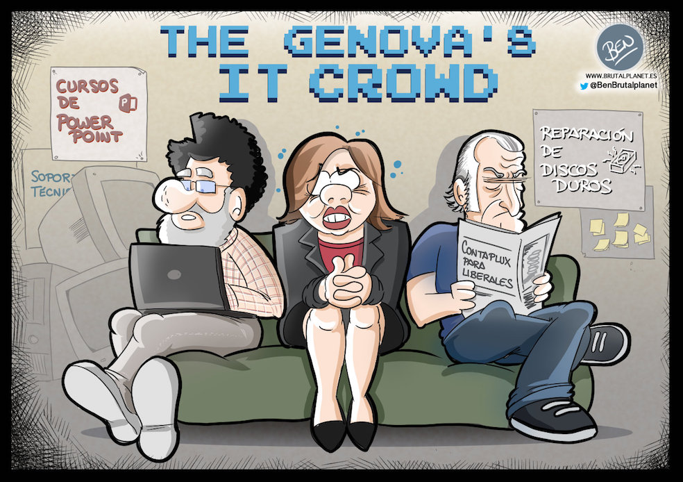 Genova's IT Crowd