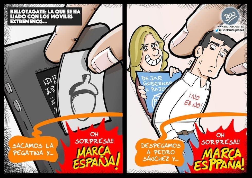"""El """"Bellotagate"""" del PSOE"""