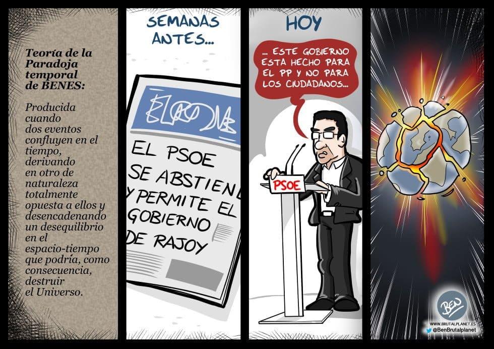 Una de paradojas en el PSOE