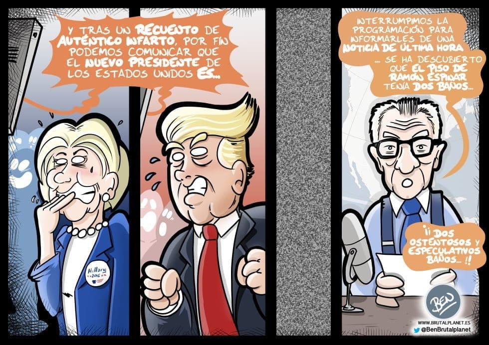 Si ciertos medios españoles informasen en EEUU