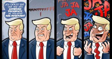 Con Trump no hacen falta palabras