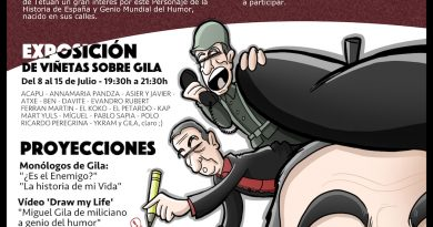cartel del Encuentro de admiradores del Humor de Gila