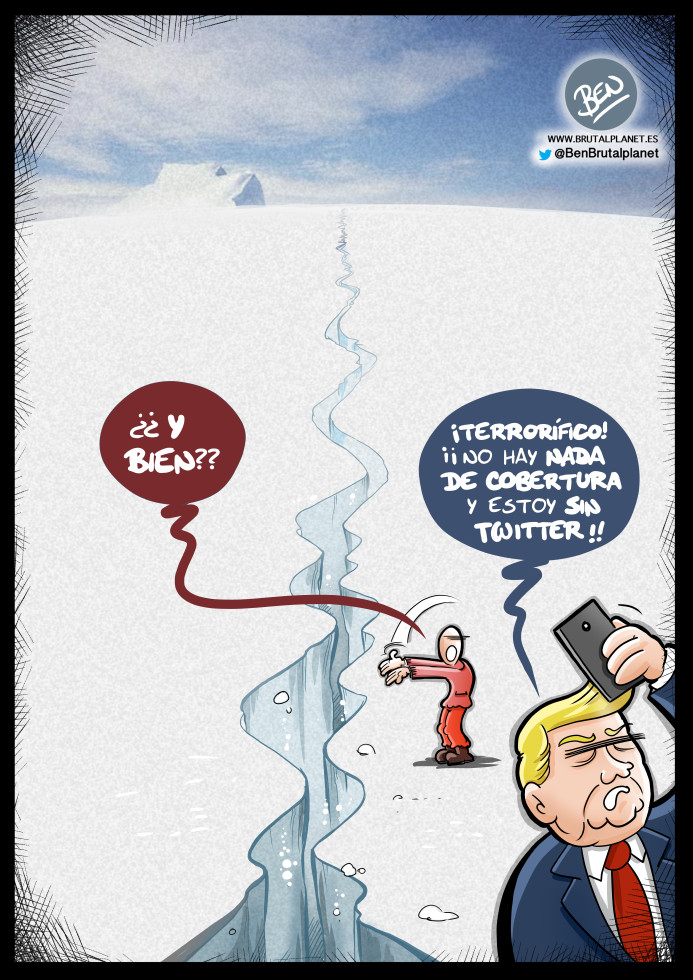 La Antártida se resquebraja