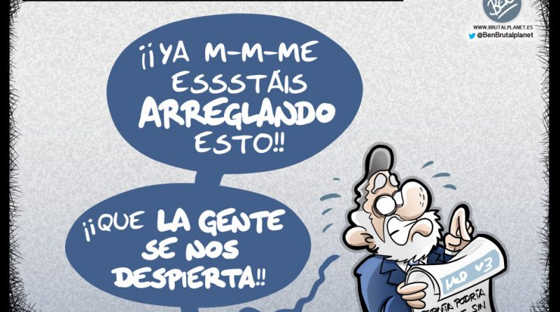 España podría quedar fuera del mundial del fútbol. Angel María Villar dice tener muy claro de quién es la culpa: del Gobierno.
