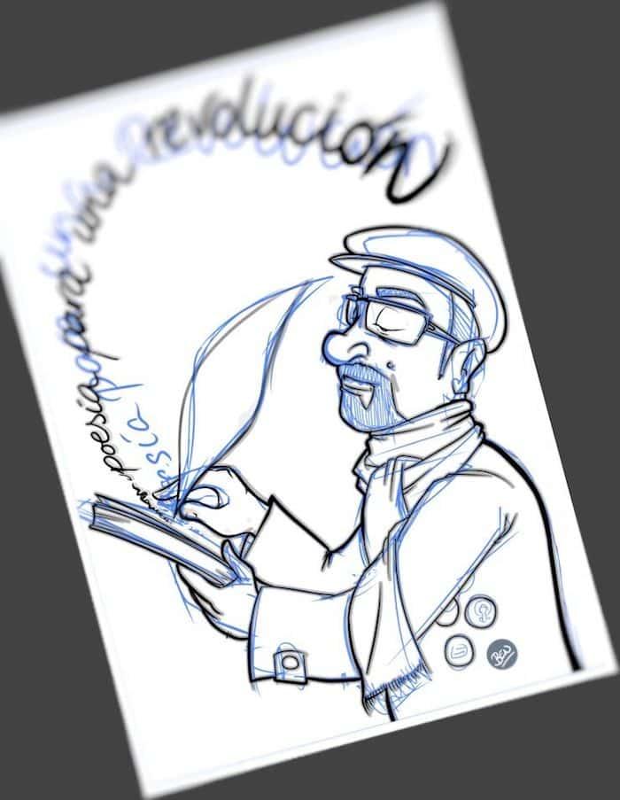 Tu Vida En Cómic - Ilustración Caricatura personalizada Poesía - tuvidaencomic.com 2