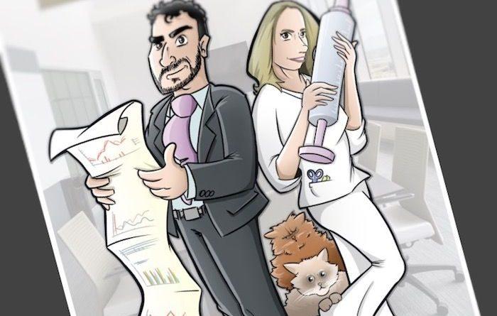 Tu Vida en Cómic - Ilustración - Caricatura Personalizada - tuvidaencomiccom