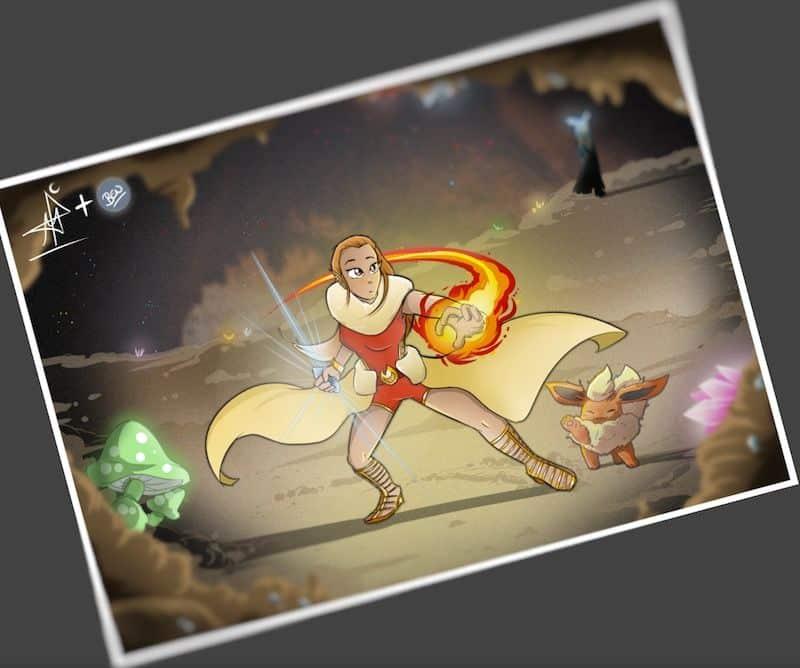 Ilustración personalizada - Los mundos de Pau - tuvidaencomic.com - Tu Vida en Cómic - Brutalplanet 3