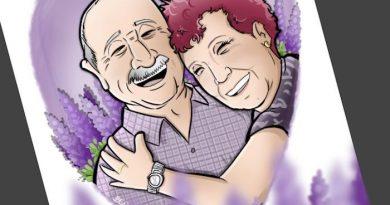 Ilustración Caricatura Personalizada - Amor que inspira - 4