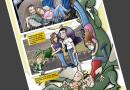 Cómic Personalizado - Familia y dragones 3
