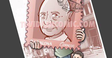 Caricatura Personalizada - sello personalizado - Regalo de Jubilación Correos - tuvidaencomic.com - BEN - 4