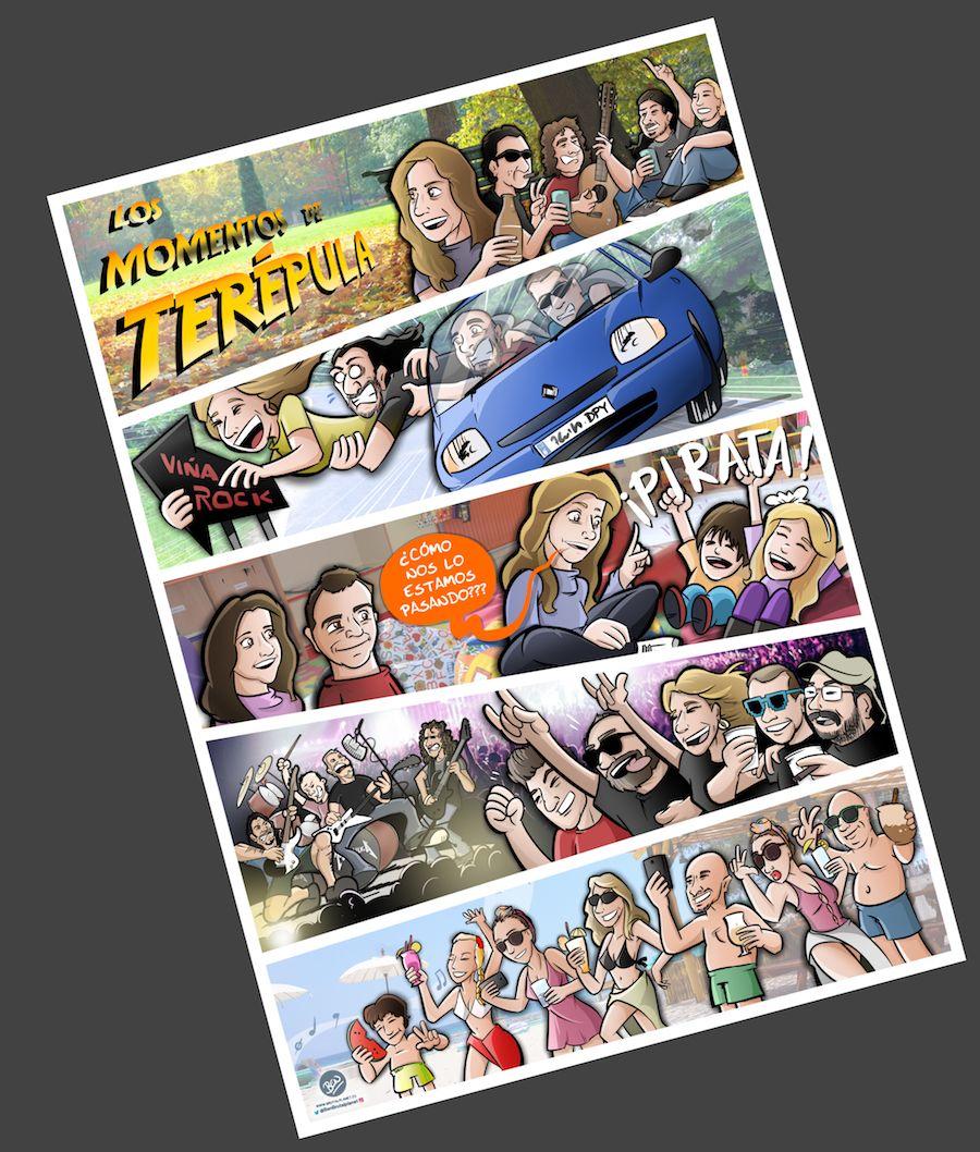 Cómic Personalizado - Los mundos de Terépula - tuvidaencomic.com - BEN - A