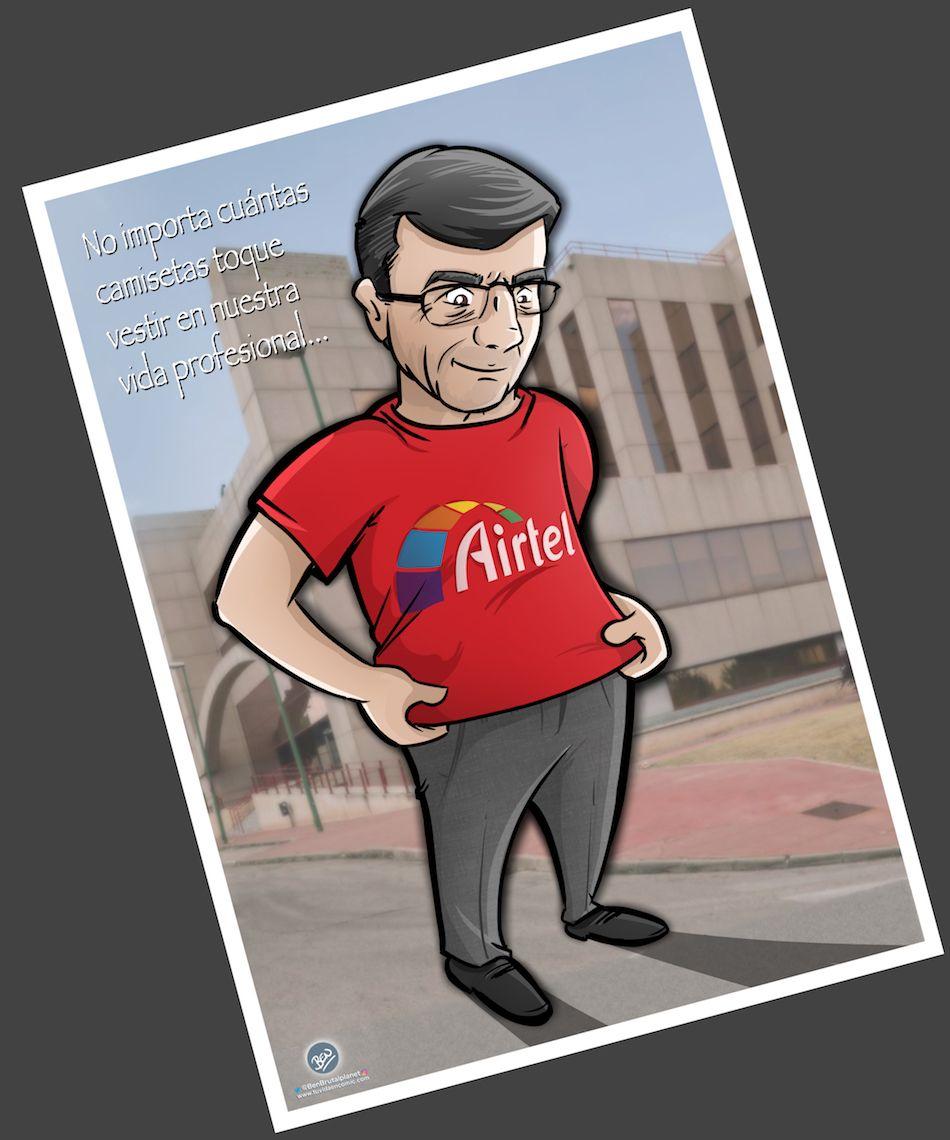 Caricatura Personalizada - Paco Román 1 - tuvidaencomic.com - BEN 3