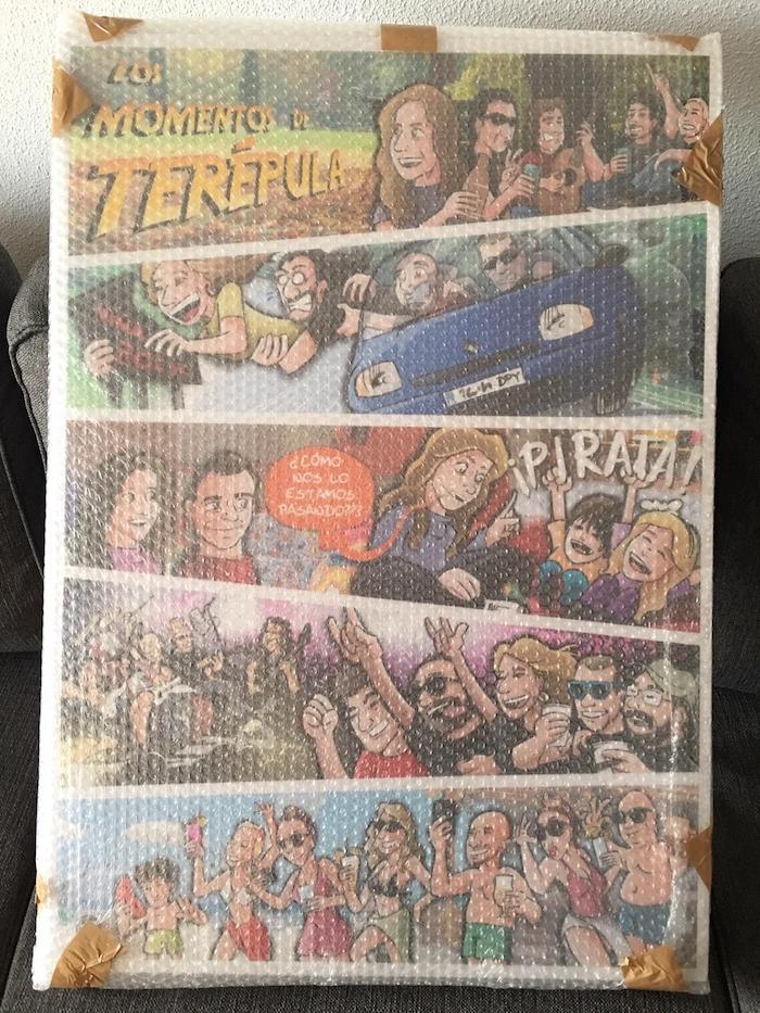 Cómic Personalizado - Los mundos de Terépula - tuvidaencomic.com - BEN - Resultado final impreso