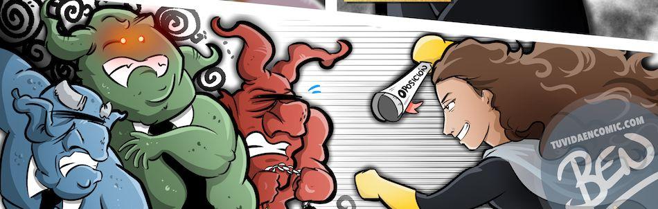 Cómic Personalizado - Regalo de cumpleaños para BatGirl - Ilustración - Caricatura personalizada - tuvidaencomic.com - BEN - 0B