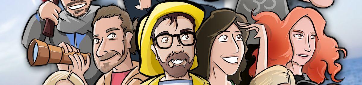 Ilustración Caricatura Personalizada - Un recuerdo para el amigo que se va - 0