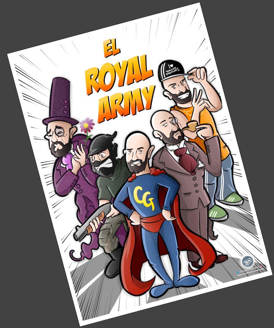 Ilustración Personalizada - Portada de cómic - personalidades - caricatura personalizada - tuvidaencomic.com - BEN - 3