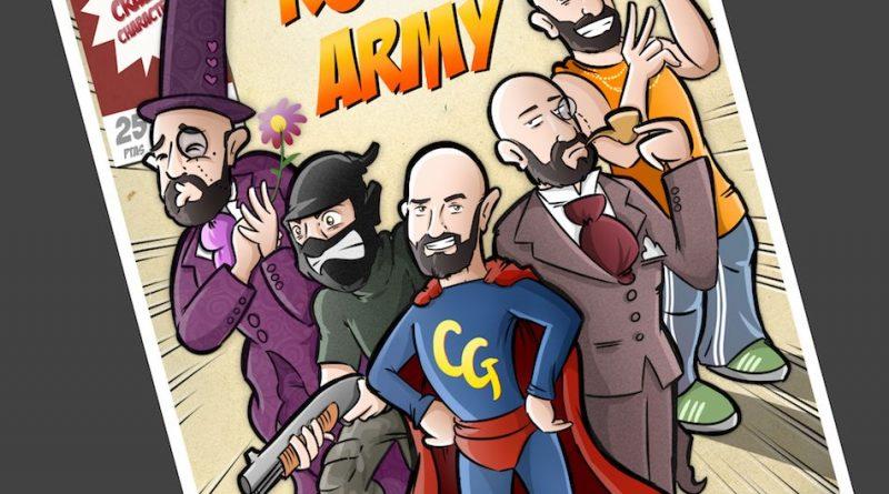 Ilustración Personalizada - Portada de cómic - personalidades - caricatura personalizada - tuvidaencomic.com - BEN - 4