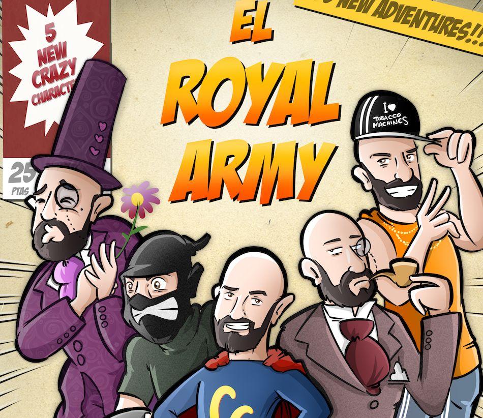 Ilustración Personalizada - Portada de cómic - personalidades - caricatura personalizada - tuvidaencomic.com - BEN - 5