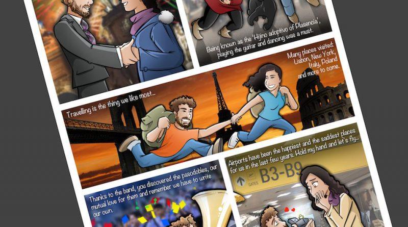 Cómic Personalizado - Historias de amor en viñetas - Caricatura personalizada - tuvidaencomic.com - BEN - 4