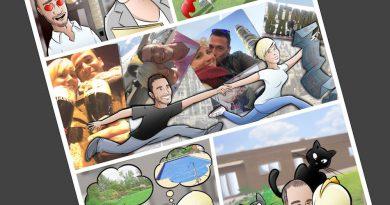 Cómic personalizado - Una historia de amor, de esas con caballeros, princesas... y gatos - Ilustración - Caricatura personalizada - tuvidaencomic.com - BEN - 4