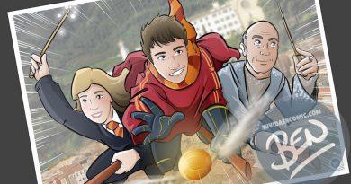 Ilustración personalizada - Regalo perfecto para fans de Harry Potter - Caricatura Personalizada - www.tuvidaencomic.com - BEN - 4