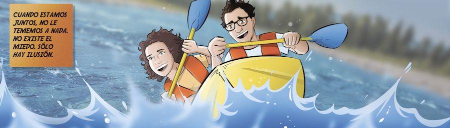 """Cómic personalizado - """"La aventura de vida de Juan y Auri"""" - Regalo de boda - www.tuvidaencomic.com - BEN - Regalo de boda original - 4"""