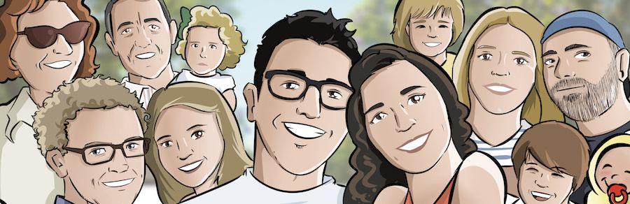 """Cómic personalizado - """"La aventura de vida de Juan y Auri"""" - Regalo de boda - www.tuvidaencomic.com - BEN - Regalo de boda original - 6"""