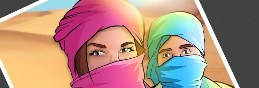 """Cómic personalizado - """"Recordando nuestros viajes"""" - Caricatura personalizada - www.tuvidaencomic.com - BEN - 0"""