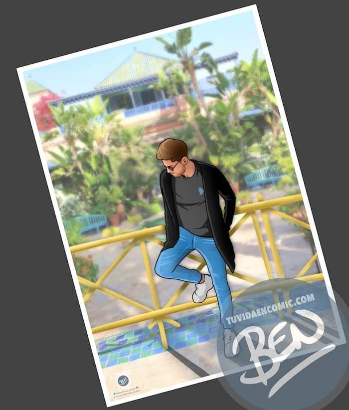"""Cómic personalizado - """"Recordando nuestros viajes"""" - Caricatura personalizada - www.tuvidaencomic.com - BEN - 3"""