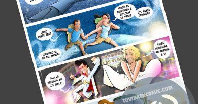 Cómic personalizado - Amores de otro mundo - Regalo de anivesario - tuvidaencomic.com - BEN - Ilustración - Caricatura personalizada - 4