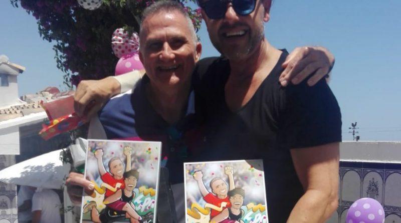 Ilustración personalizada - Amistad y un IronMan contigo a cuestas - Caricatura personalizada - www.tuvidaencomic.com - BEN - 5 - Testimonio Reacción