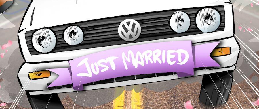 Ilustración grupal personalizada - Nos vamos de boda - Caricatura grupal - tuvidaencomic.com - BEN - 0