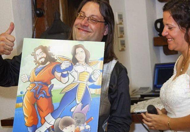 Una familia de Súper Guerreros - www.tuvidaencomic.com - BEN - Caricatura Personalizada - Cómic Personalizado - Testimonio