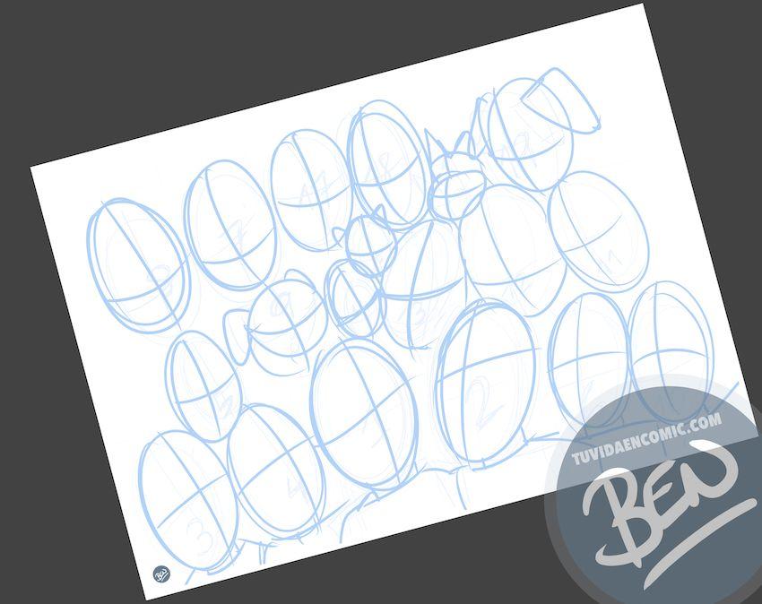 Ilustración de familia - Caricatura grupal - Caricatura de familia - www.tuvidaencomic.com - BEN - 1