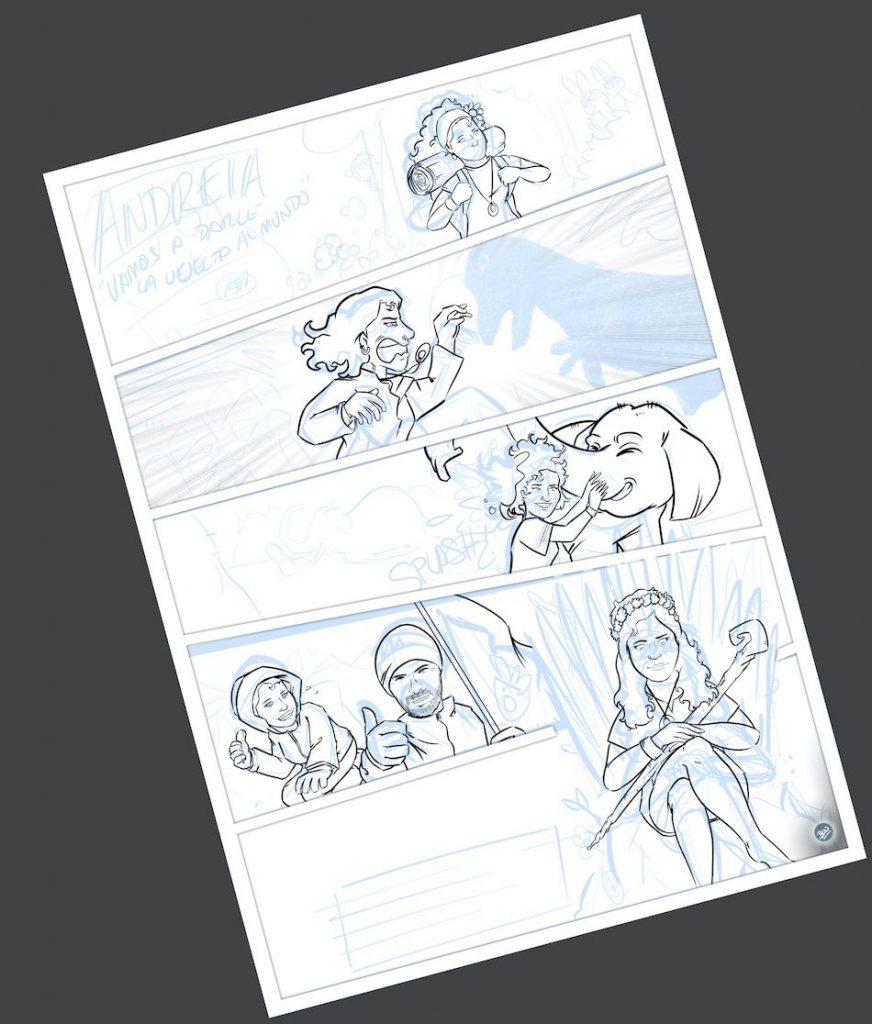 Cómic personalizado - Cambiando el mundo - www.tuvidaencomic.com - BEN - Tu Vida en Cómic - Caricatura personalizada - 3
