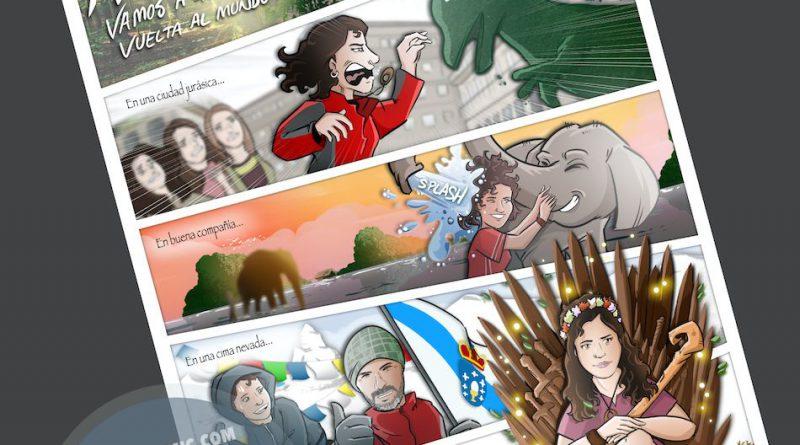 Cómic personalizado - Cambiando el mundo - www.tuvidaencomic.com - BEN - Tu Vida en Cómic - Caricatura personalizada - 6