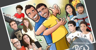 Todos tus amigos en una Caricatura grupal - www.tuvidaencomic.com - BEN - Carcatura personalizada - 4