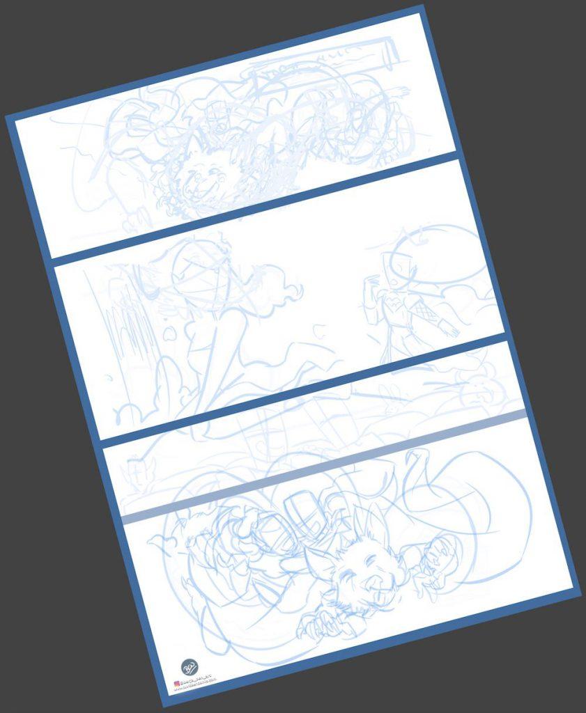 Cómic personalizado - Una boda de cuento - www.tuvidaencomic.com - Tu Vida en Cómic - Caricatura personalizada - BEN - 1