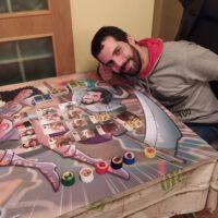 tapete-personalizado-juegos-de-mesa - Tu Vida en cómic - caricaturas personalizadas - regalos personalizados - TESTIMONIO